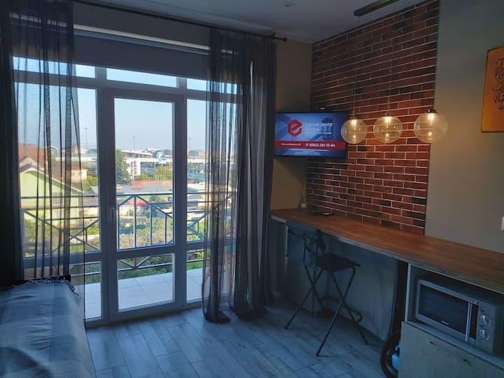 Квартира в Сочи с видом на Олимпийский парк