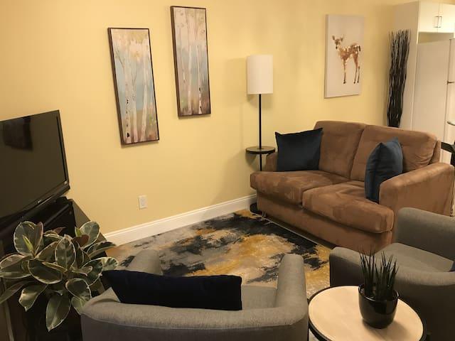 Clean & Classy 2-Bedroom Suite