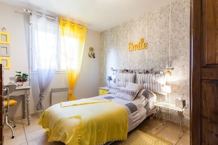 chambre yellow pop - Léojac