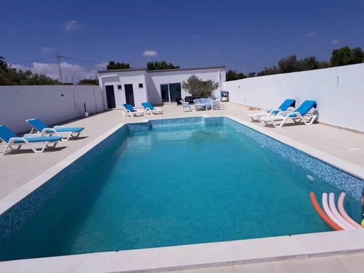 Villa Syrine® à Djerba à 5 minutes de la plage