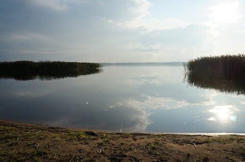 Дом в Ларионово на берегу Судаковского озера