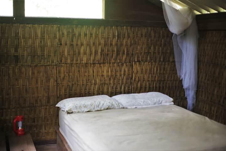 Quarto de casal em Ubatuba com vivência ecológica