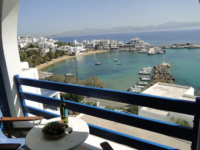 Double Room with sea view - Πίσω Λιβάδι - Bed & Breakfast