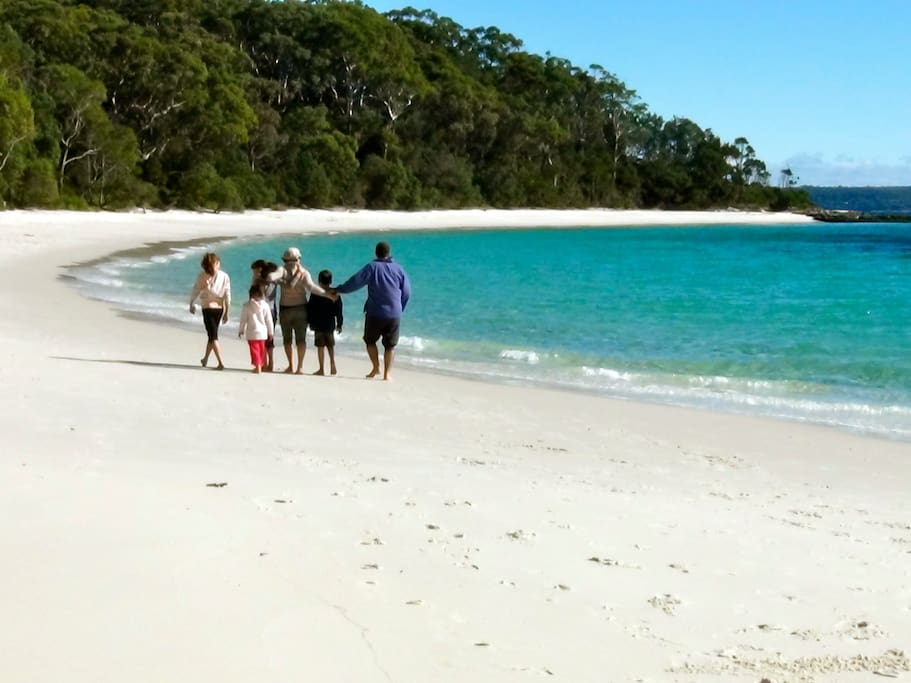Beautiful Beaches within walking distance from house