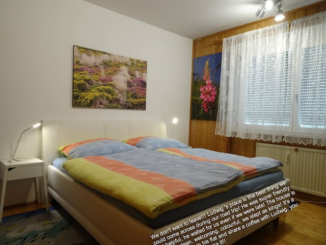 silent room for two persons - Linz - Apartamento