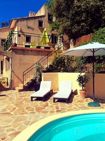 4 bed villa Lamalou les Bains golf