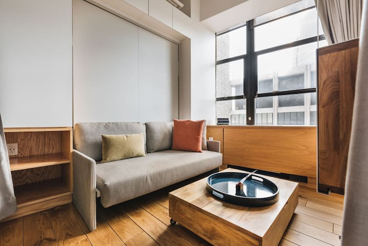 WeLive Wall Street -- One Bedroom Double Apartment