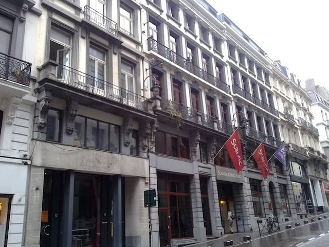 City Center in Brussels (Host is also at home)
