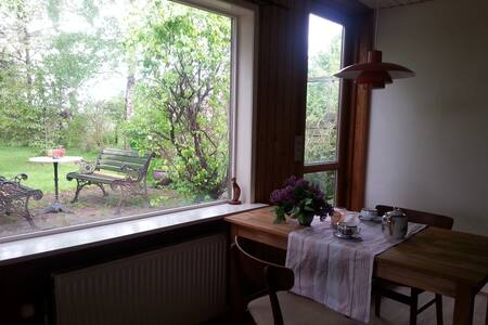 cosy litle house with lovely garden - STEGE Torstrup