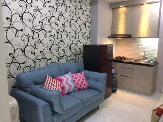 Ayodhya 2BR/1,5KM exit toll Tangerang/Near Airport