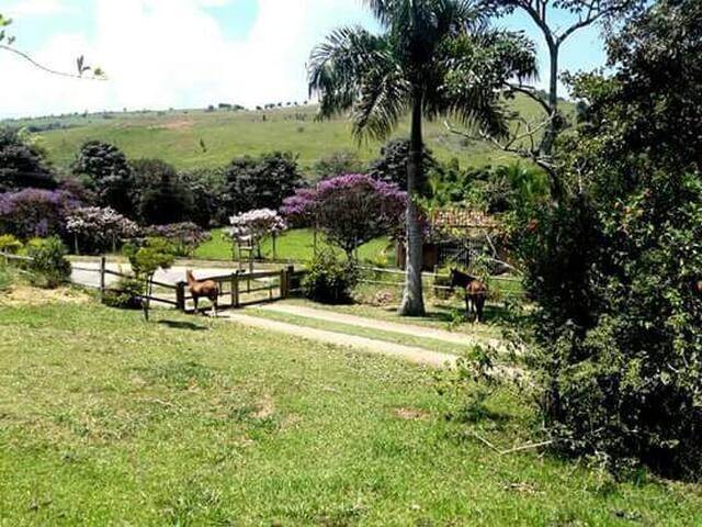 Sitio Paraiso - Taubaté - Cabaña