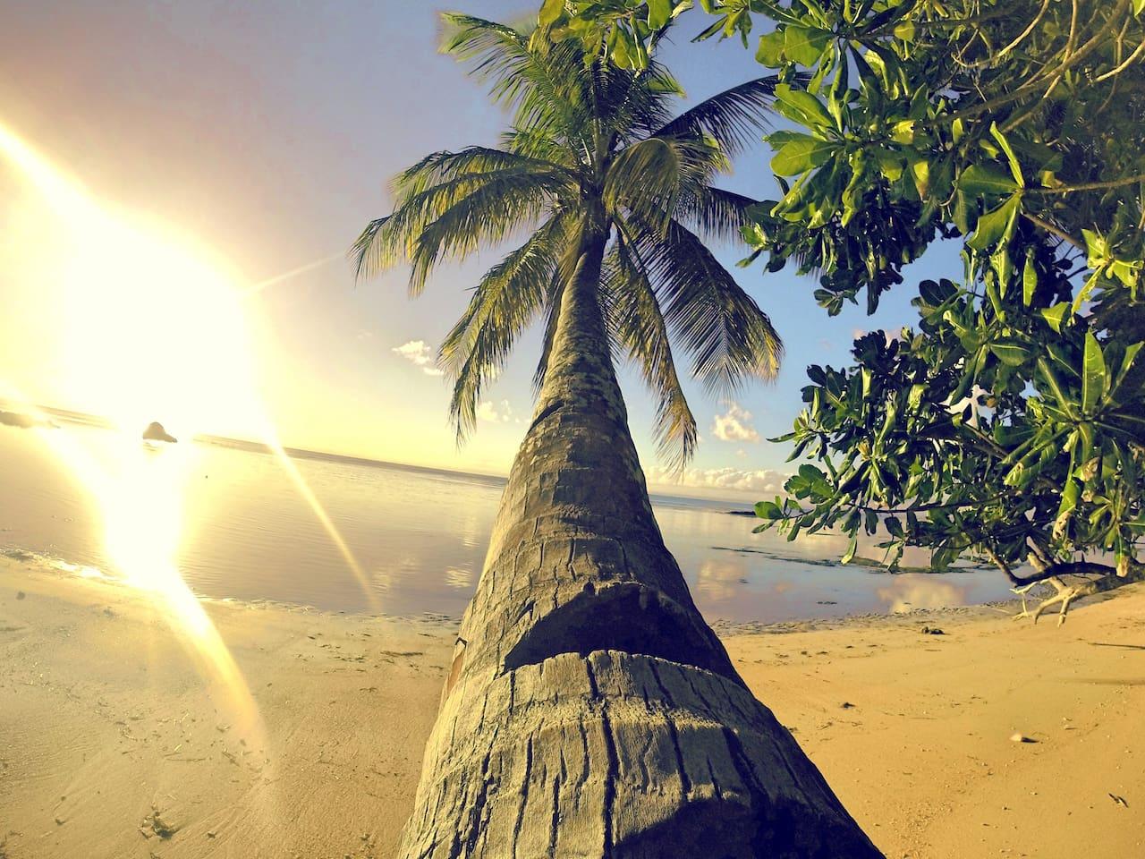 """La plage de """"Chez Nath"""""""