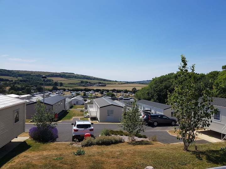 6 berth static with amazing views as seen on CH 5