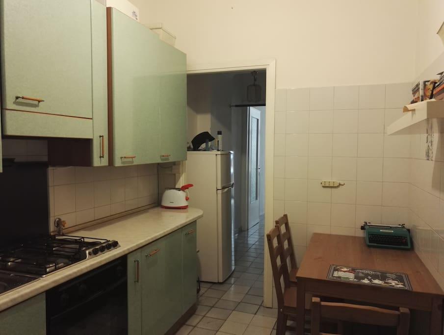Old style italian kitchen