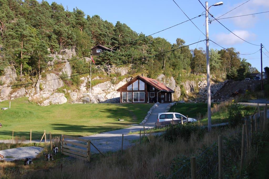 North-Vest facade # 2