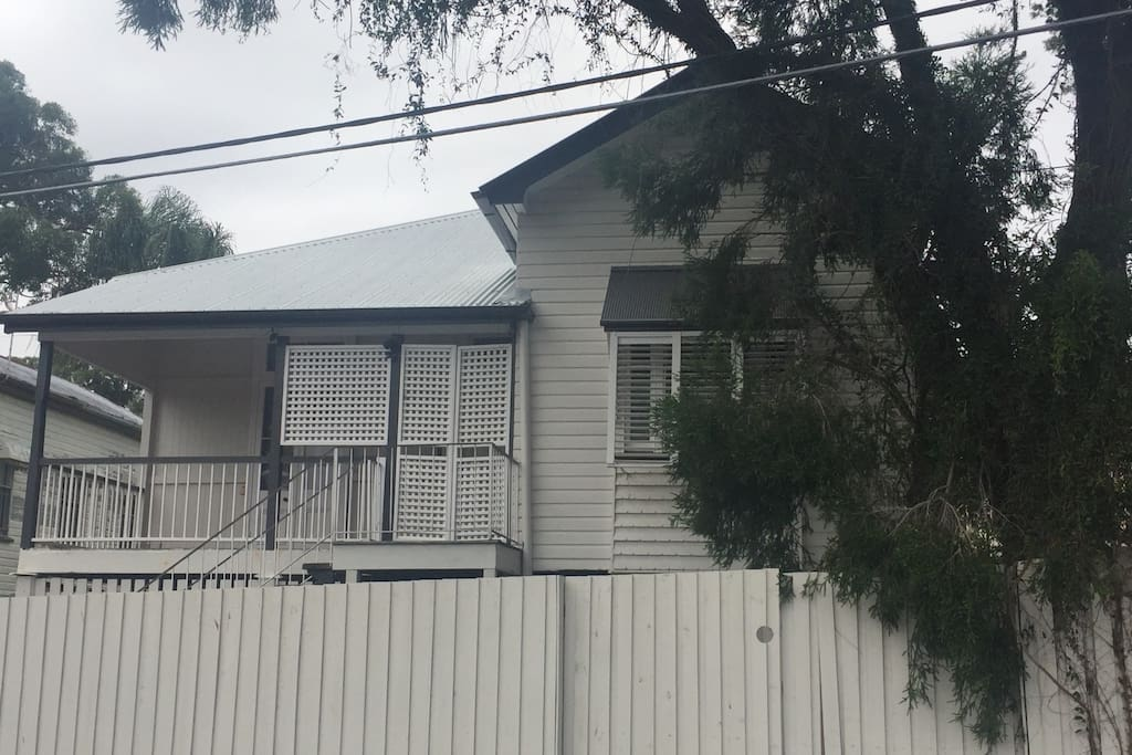 Front of house - a period Queenslander