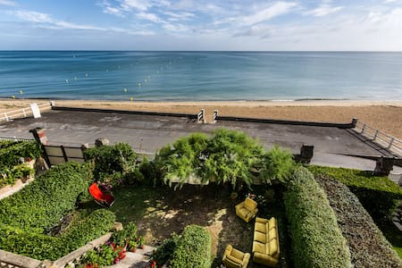 Vue sur mer, villa art-nouveau (2) - Lion-sur-Mer