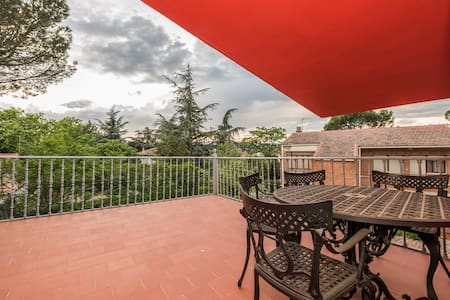 The Red Home|35 minutes from MADRID - Collado Villalba - Alpehytte