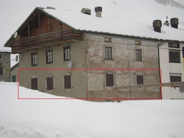 Caratteristico appartamento '800 - Montespluga - MADESIMO - Apartment