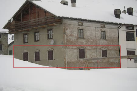 Caratteristico appartamento '800 - Montespluga - MADESIMO