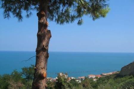 Beach apt with stunning sea view - San Vito Chietino - Lägenhet