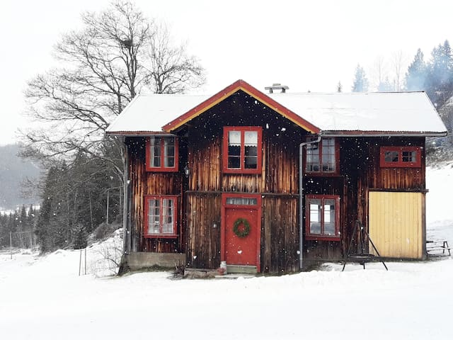 Charming house from 1826 in beautiful Morgedal