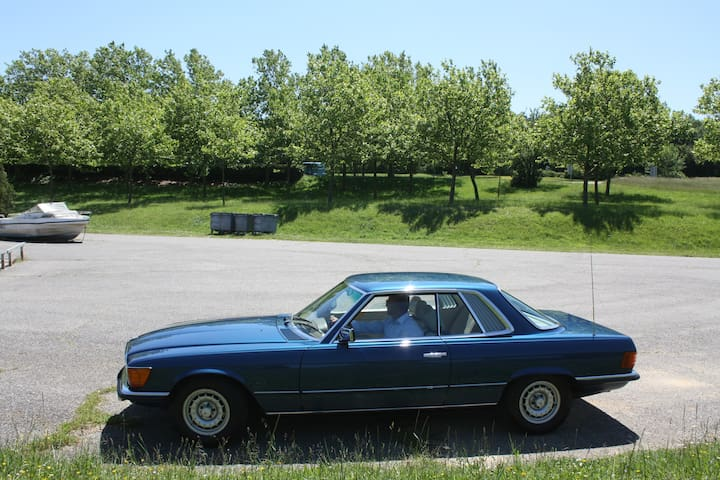 CLASSIC CAR RENTAL South of France