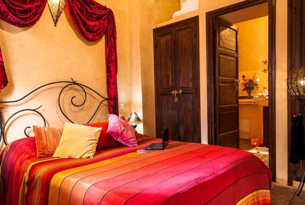 Chambres d 39 h tes louer marrakech marrakech tensift for Chambre d hotes marrakech