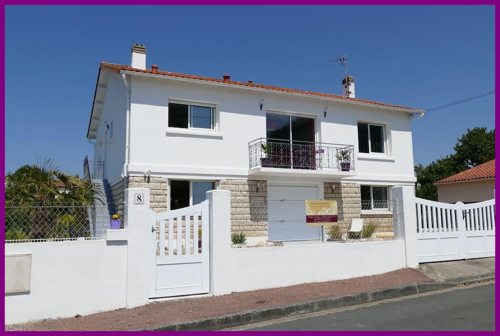 Maison Pontaillac, 8 rue de la manche à Royan