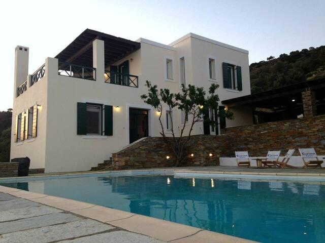 Villa Paesaggio - Andros - Villa