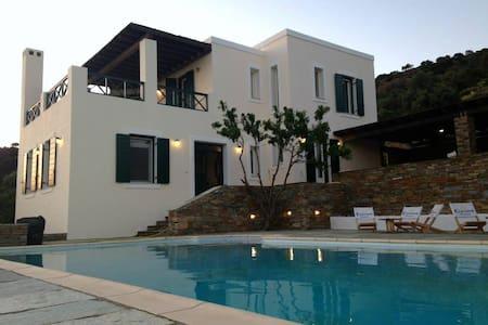 Villa Paesaggio - Andros - Casa de campo