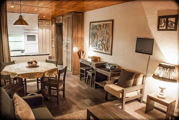 Great one bedroom apartment in Tignes Val Claret, ski in/out