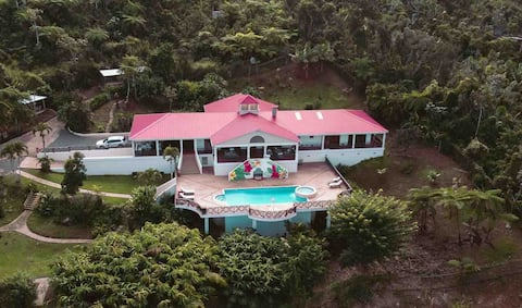 Unique Home in Adjuntas w/ Chimney and Heated Pool