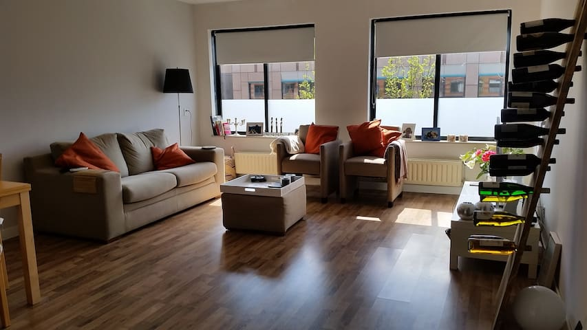 Spacious apt 6 min walk CS & centre