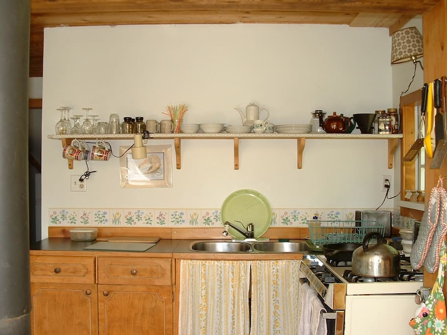 All dishes, pots and pans for stove top or oven cooking