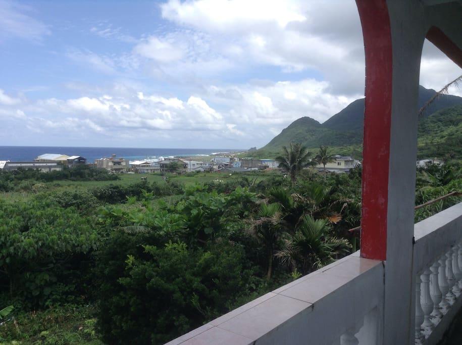 2樓陽台的風景