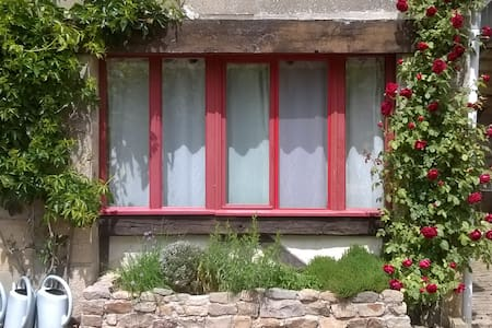 Le Sapin, B&B for naturists - Champallement - Aamiaismajoitus