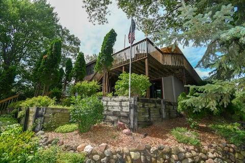 Beautiful Home on Lake Wissota