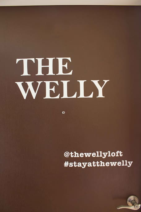 Welcome to The Welly!