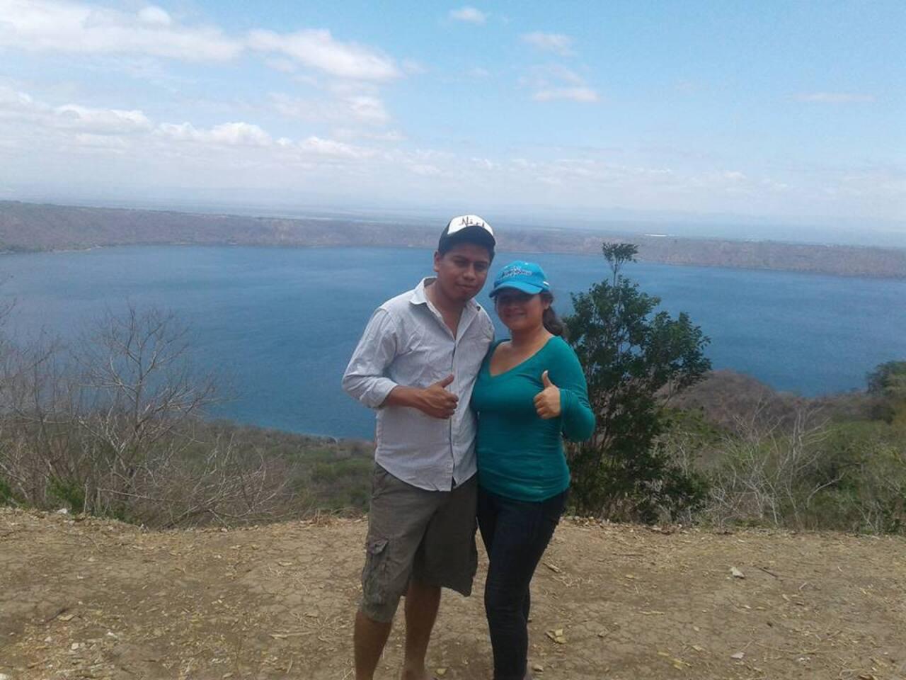 Vista de las laderas Laguna De Apoyo.