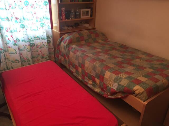 Habitación con 2 camas centro zgz - Zaragoza - Casa