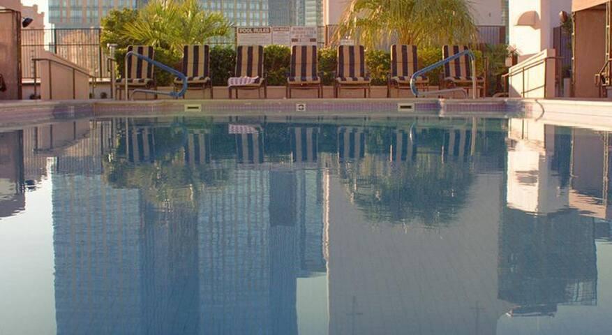 1 bdr Polo Towers Suites And Villas - Лас-Вегас - Квартира