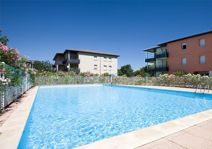 t3 dans une résidence avec piscine - Montauban - Apartamento
