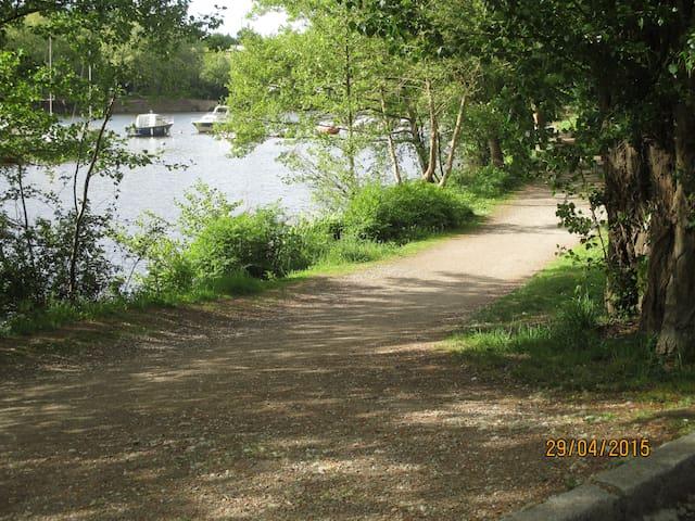 Chemin pédestre, promenade, jogging