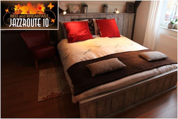 Guestroom B&B Jazzroute 10 - Middelburg - Bed & Breakfast