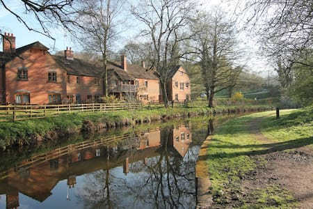 Wharf, Foxtwood Cottages - Froghall