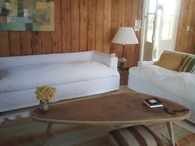 """""""Verde que te quiero verde """" Cuarto en suite - La Barra - Bed & Breakfast"""