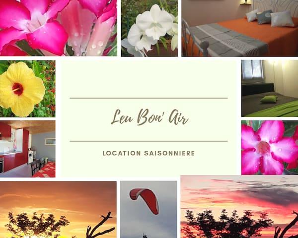 """""""Leu Bon' Air"""" vous souhaite la bienvenue..."""