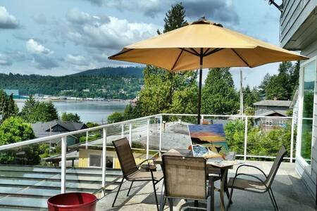 Ocean view room in Vancouver