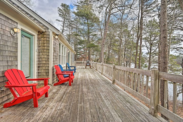 NEW! Waterfront Home on Beautiful Jenkins Pond!
